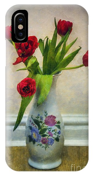 Floral Arrangement iPhone Case - Tulip Love by Ian Mitchell
