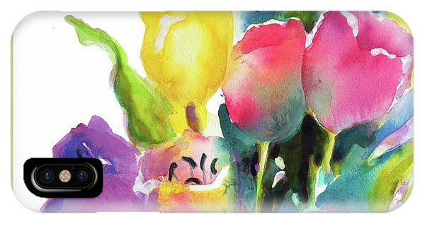 Tulip Pot IPhone Case