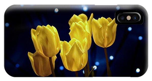 Blossom iPhone Case - Tulip Twinkle by Tom Mc Nemar