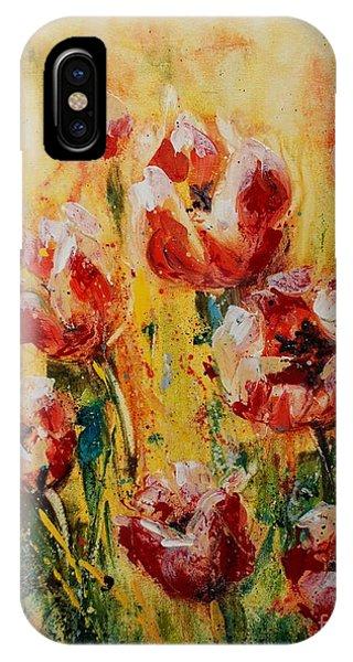 Tulip Waltz IPhone Case