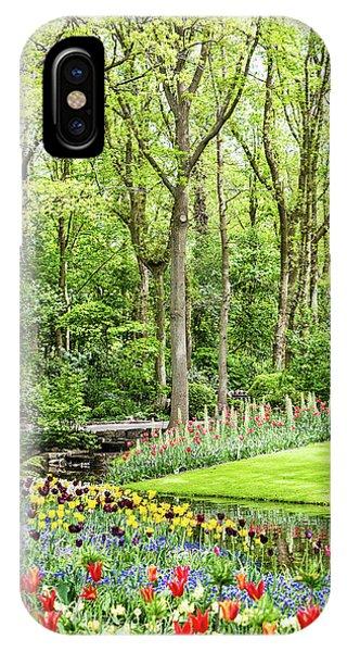 Tulip Wonderland - Amsterdam IPhone Case