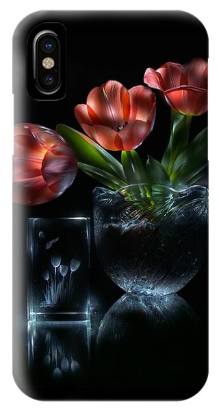 IPhone Case featuring the photograph Tulips by Alexey Kljatov