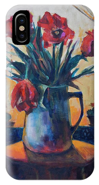 Tulips And Cacti IPhone Case
