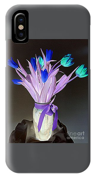 Tulips Cancer 1 IPhone Case