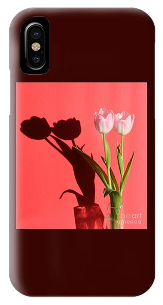 Tulips Casting Shadows IPhone Case