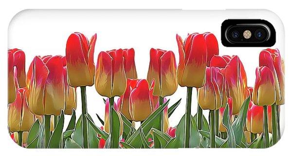 iPhone Case - Tulips by Harry Warrick