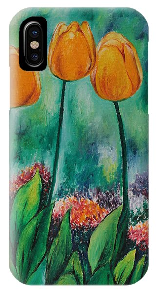 The Three Tulips IPhone Case