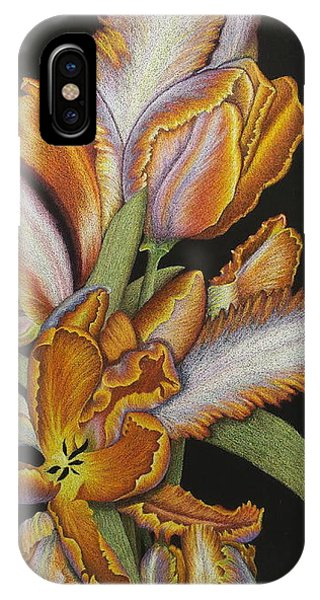 Tulips Of Fire IPhone Case