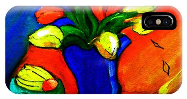 Tulips On My Table IPhone Case