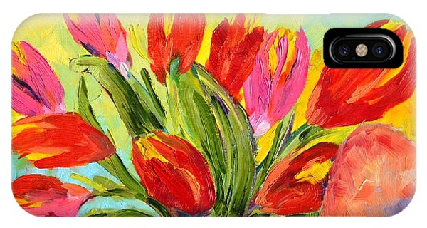 Tulips Tied Up IPhone Case