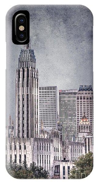 Tulsa Art Deco II IPhone Case
