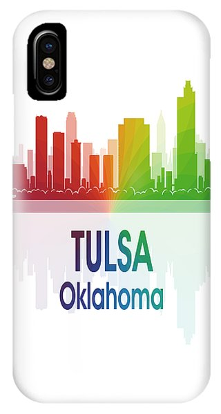 Ok iPhone Case - Tulsa Ok 1 Vertical by Angelina Tamez