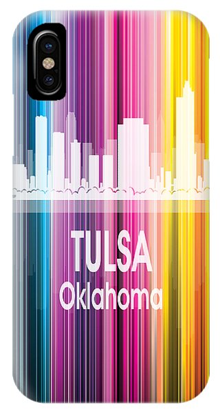 Ok iPhone Case - Tulsa Ok 2 Vertical by Angelina Tamez