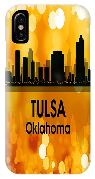Ok iPhone Case - Tulsa Ok 3 Vertical by Angelina Tamez