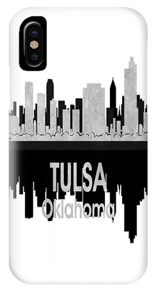 Ok iPhone Case - Tulsa Ok 4 Vertical by Angelina Tamez
