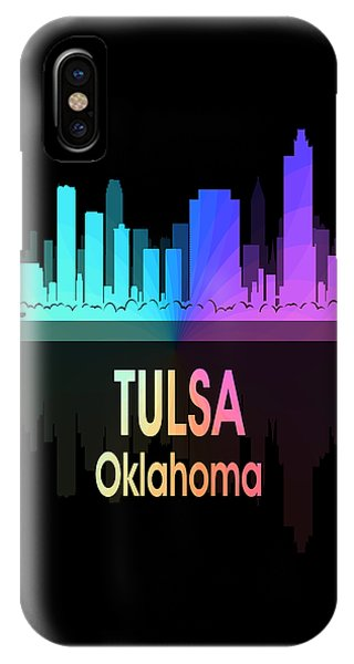 Ok iPhone Case - Tulsa Ok 5 Vertical by Angelina Tamez