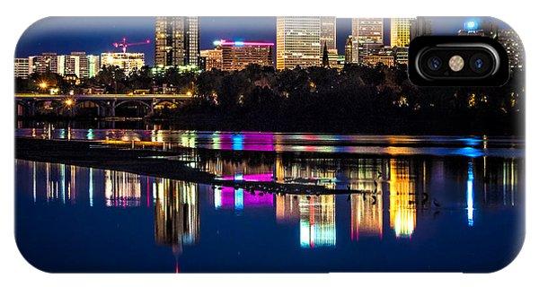 Tulsa Skyline At Twilight IPhone Case