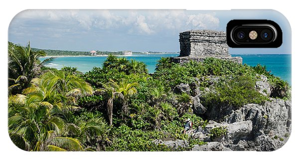 Tulum Jungle Ruins IPhone Case