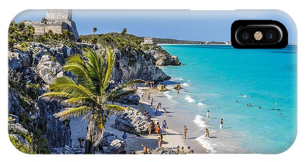 Maya iPhone Case - Tulum by Pelo Blanco Photo
