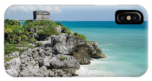 Tulum Ruins IPhone Case