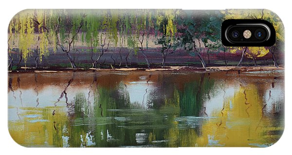 Nature Scene iPhone Case - Tumut Reflections by Graham Gercken