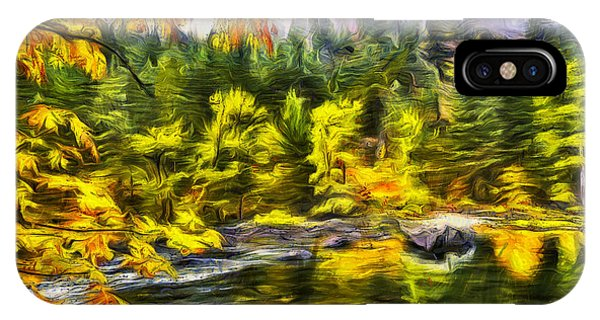 Fall Colors iPhone Case - Tumwater Autumn by Mark Kiver