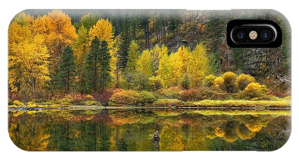 Tumwater Reflections IPhone Case