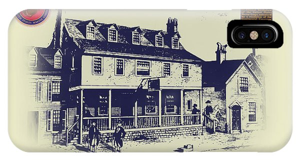 iPhone Case - Tun Tavern - Birthplace Of The Marine Corps by Bill Cannon