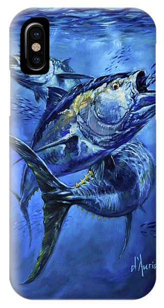 South Pacific Ocean iPhone Case - Tuna  by Tom Dauria