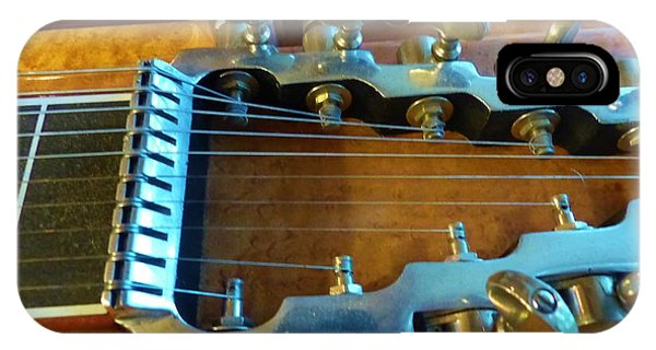 Tuning Pegs On Sho-bud Pedal Steel Guitar IPhone Case