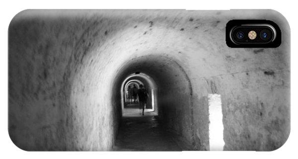 Tunnel In San Cristobal IPhone Case