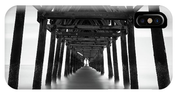Pier iPhone Case - Tunnel by Ivo Kerssemakers