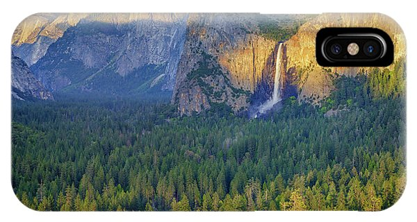 Tunnel View At Sunset IPhone Case