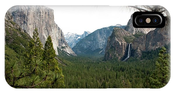 Tunnel View Framed IPhone Case