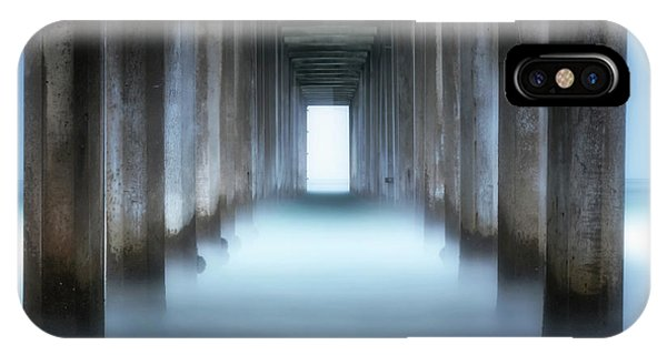 Scripps Pier iPhone Case - Tunnel Vision by Doug Barr