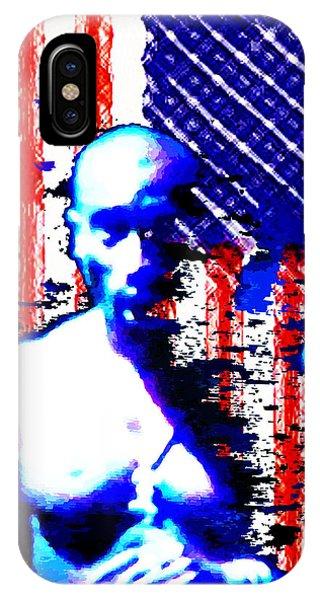 Tupac N America IPhone Case