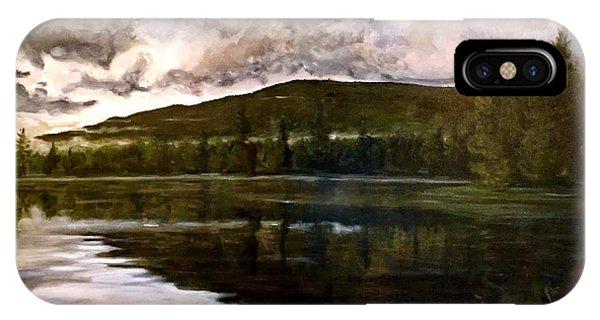 Tupper Lake Evening Mood Phone Case by David Llanos