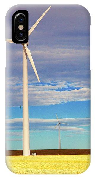 Turbine Formation IPhone Case