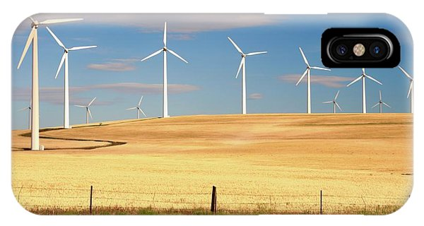 Turbine Line IPhone Case