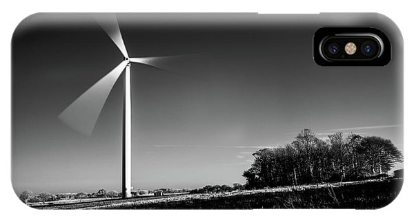 IPhone Case featuring the photograph Turbine by Will Gudgeon
