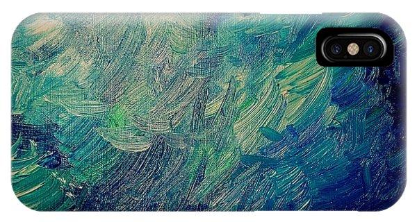 Turbulent Sea IPhone Case