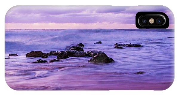 Turbulent Daybreak Seascape IPhone Case