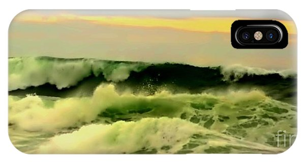 Turbulent Ocean Swell IPhone Case