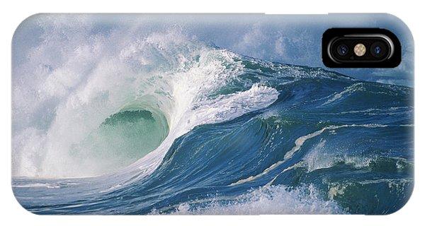 Turbulent Shorebreak IPhone Case