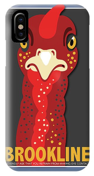 Turkey iPhone Case - Turkey Stare by Caroline Barnes
