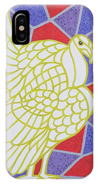 Turkey On Stained Glass IPhone Case