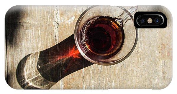 Turkish Tea On A Wooden Table IPhone Case