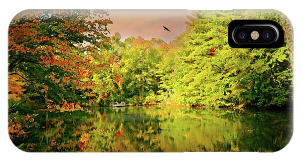 Stamford iPhone Case - Turn Of River by Diana Angstadt