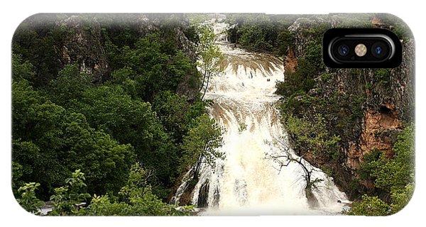 Turner Falls Waterfall IPhone Case