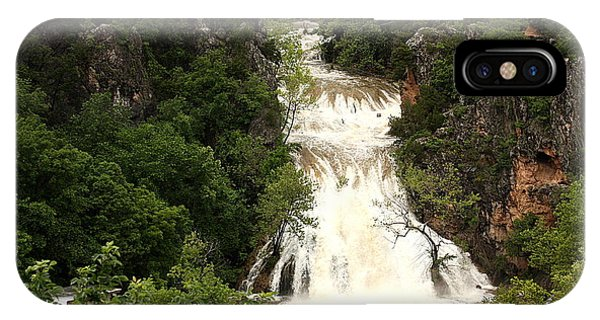Turner Falls Waterfall IPhone Case